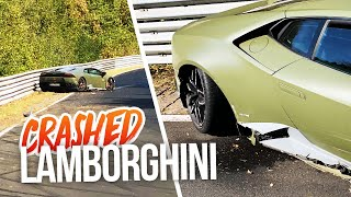 I CRASHED my $250.000 LAMBORGHINI (totalled) and now I will repair it