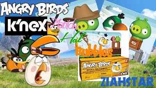 Angry Birds K'nex review: Hal, Maltilda and Bubbles.