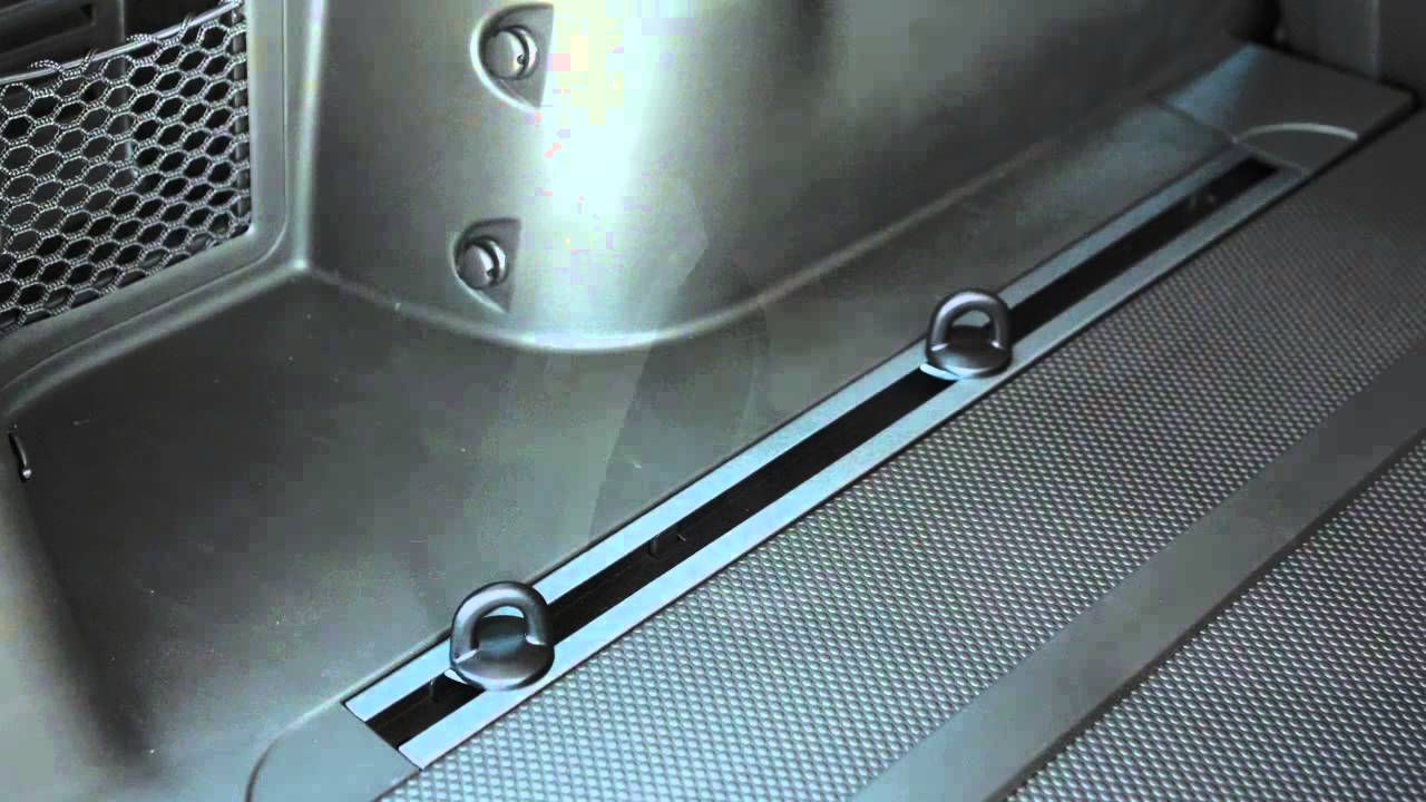 2015 NISSAN Xterra - Channel Tie-Down Hooks (if so equipped) - YouTube