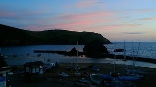 Hope Cove Harbour Evening High Tide 28th June 2014