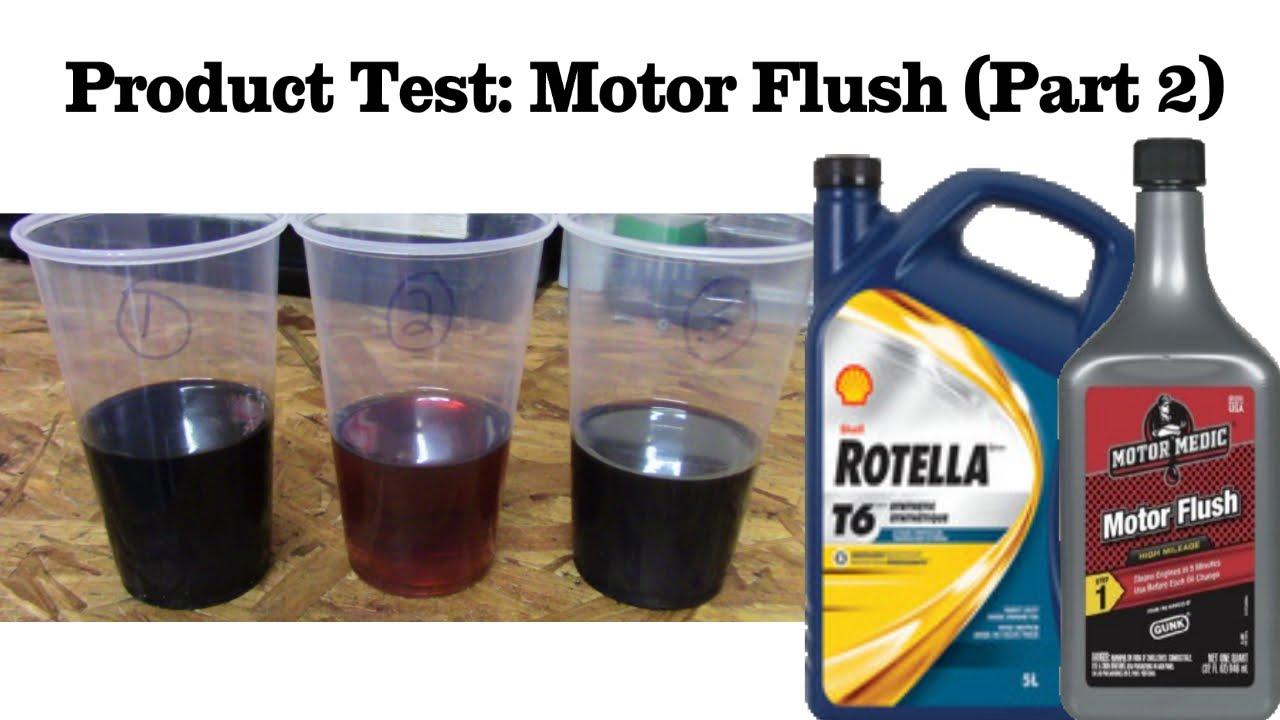 Product Review Gunk Motor Flush Treatment Part 2 Youtube