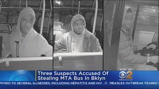 Suspects Take MTA Bus On Joy Ride
