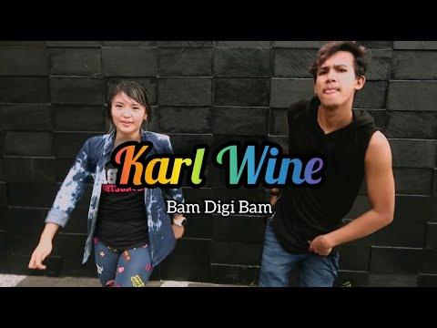Karl Wine - Bam Digi Bam  ZUMBA  FITNESS  DANCE  At Dome Balikpapan