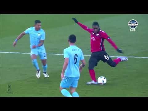 """Azərbaycan Kuboku 17/18, 1/4 final, ilk oyun, """"Qəbələ"""" 1-0 """"Səbail"""""""