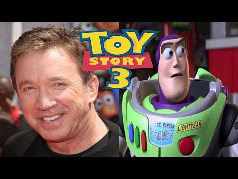 PIXAR TOY STORY 3 BEHIND THE VOICE.