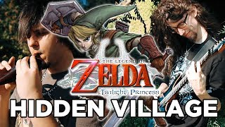 Zelda: Twilight Princess - HIDDEN VILLAGE || Metal Cover by ToxicxEternity and FamilyJules