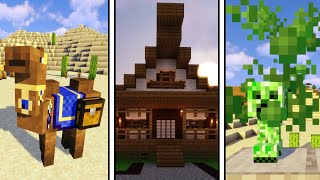 Top 5 Minecraft Mods Of The Week - Savage & Ravage, Camels, Macaw's Doors, Bouncy Bouncy & More!