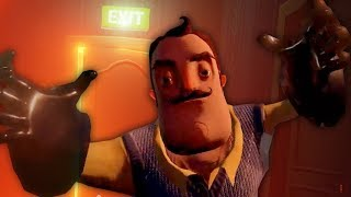 GEOMETRY DASH : NUEVOS NIVELES ÉPICOS DE HELLO NEIGHBOR