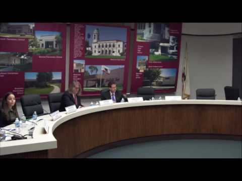 Monrovia Unified School District Board Meeting | October 26, 2016