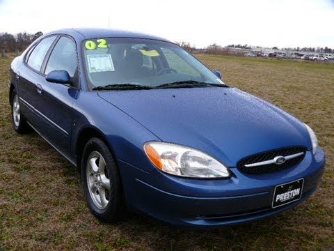 Used Car Maryland Dealer 2002 Ford Taurus Se V6 Auto