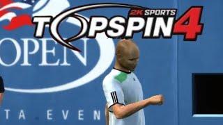 Top Spin 4 - Sampras VS Agassi (Very Hard)