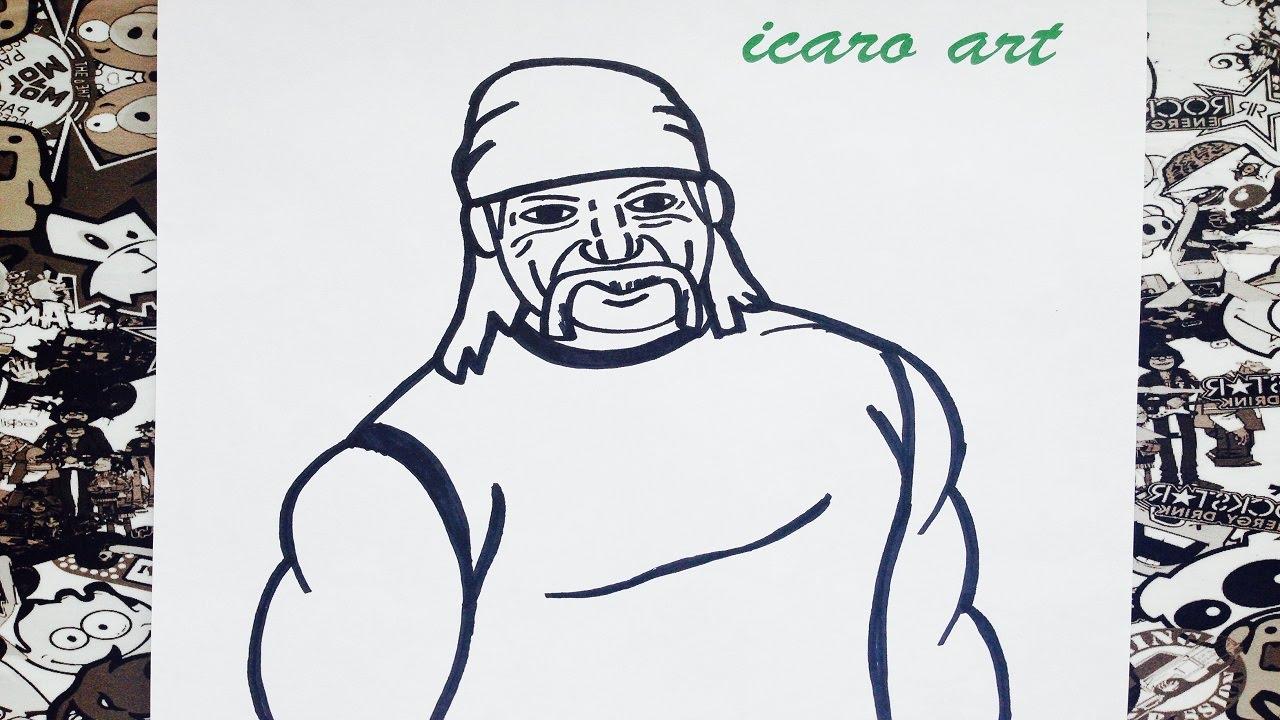 Hulk Para Colorear Facil: Como Dibujar A Hulk How To Draw Hulk Como Desenhar O Hulk