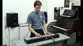 Как играть на синтезаторе / №01 / Уроки игры на синтезаторе с .