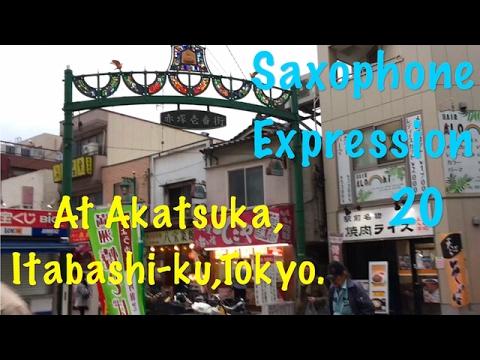 Saxophone Expression 20 @Akatsuka,Itabashi-ku,Tokyo.