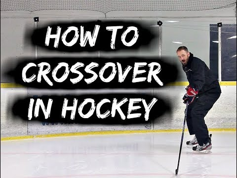 HOW TO GET BETTER AT CROSSOVERS IN HOCKEY AND START CREATING MORE SPEED