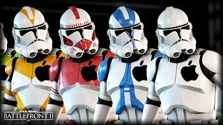 Star Wars Battlefront 2 - Funny Gameplay Moments (APPLE CLONE TROOPERS 😬)