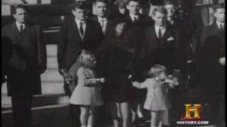 Clips of JFK Jr in the White House as a child