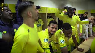 FC Nantes - Châteauroux : la joie du vestiaire