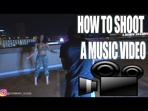 HOW TO SHOOT A MUSIC VIDEO!!!! f/