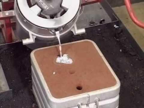 Sand Casting 2 (Pouring Aluminium)
