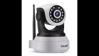 Sricam 1080P Camera SP017 setup WiFi Via AP Hotspot