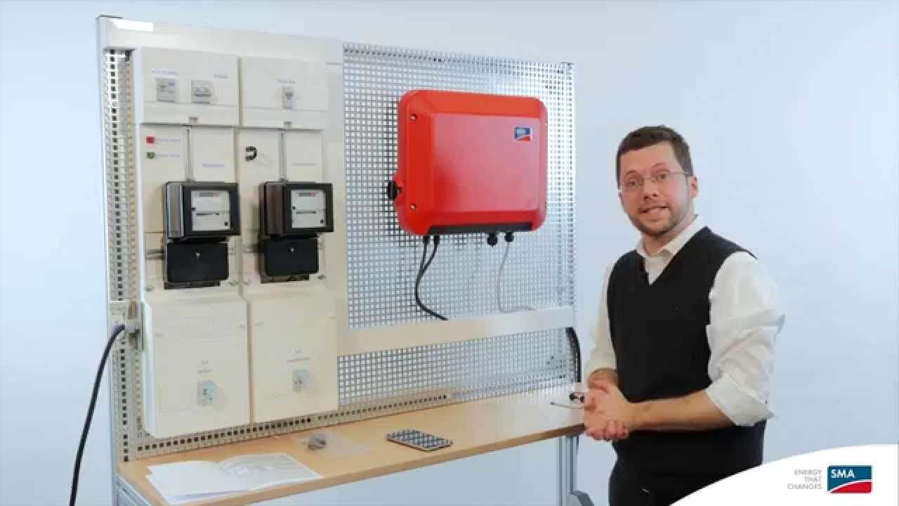 installation and commissioning of the sunny boy 1 5 2 5 youtube rh youtube com SMA Sunny Boy Gray Sunny Boy Inverter 3000