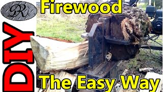 Diy The Easy Way To Process Firewood For The Snowy Winter Ahead