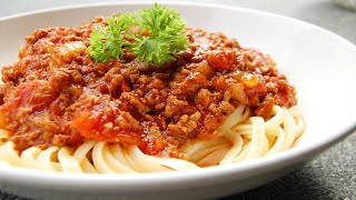 COOKING WITH ROBUST - Spaghetti Bolognese