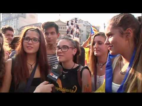 TV3 - Resum de la Via Catalana 2014 - Les veus de la V