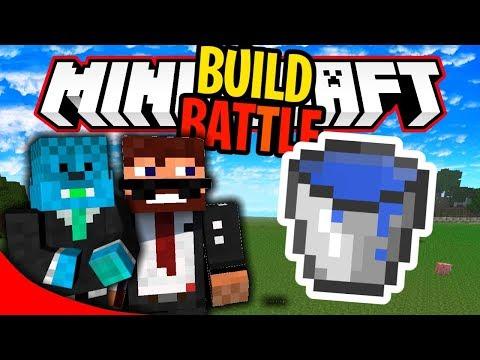 MINECRAFT: GRADIMO VODOPAD! ( Build Battle sa Mr_Brother-om!)