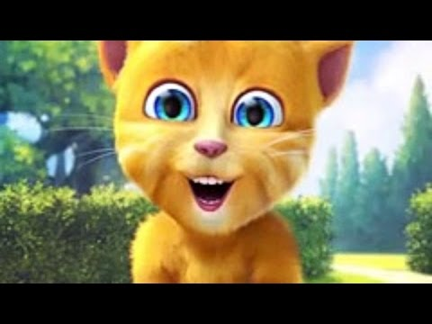 Talking Ginger 2 funny cat dance USA (Songs for Children with Action)