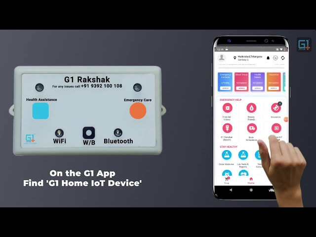 G1 Rakshak - This device can save your elderly parents during an emergency