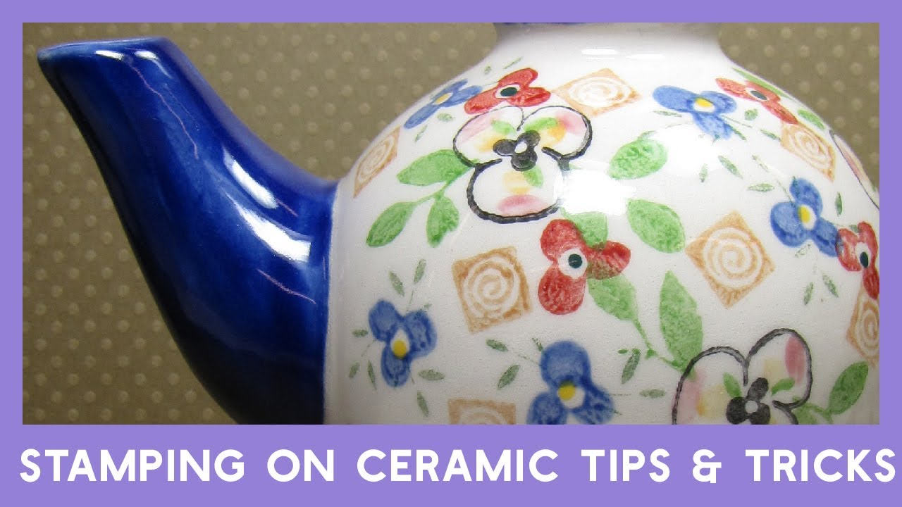 Ceramic bisque stamping tips youtube ceramic bisque stamping tips dailygadgetfo Choice Image