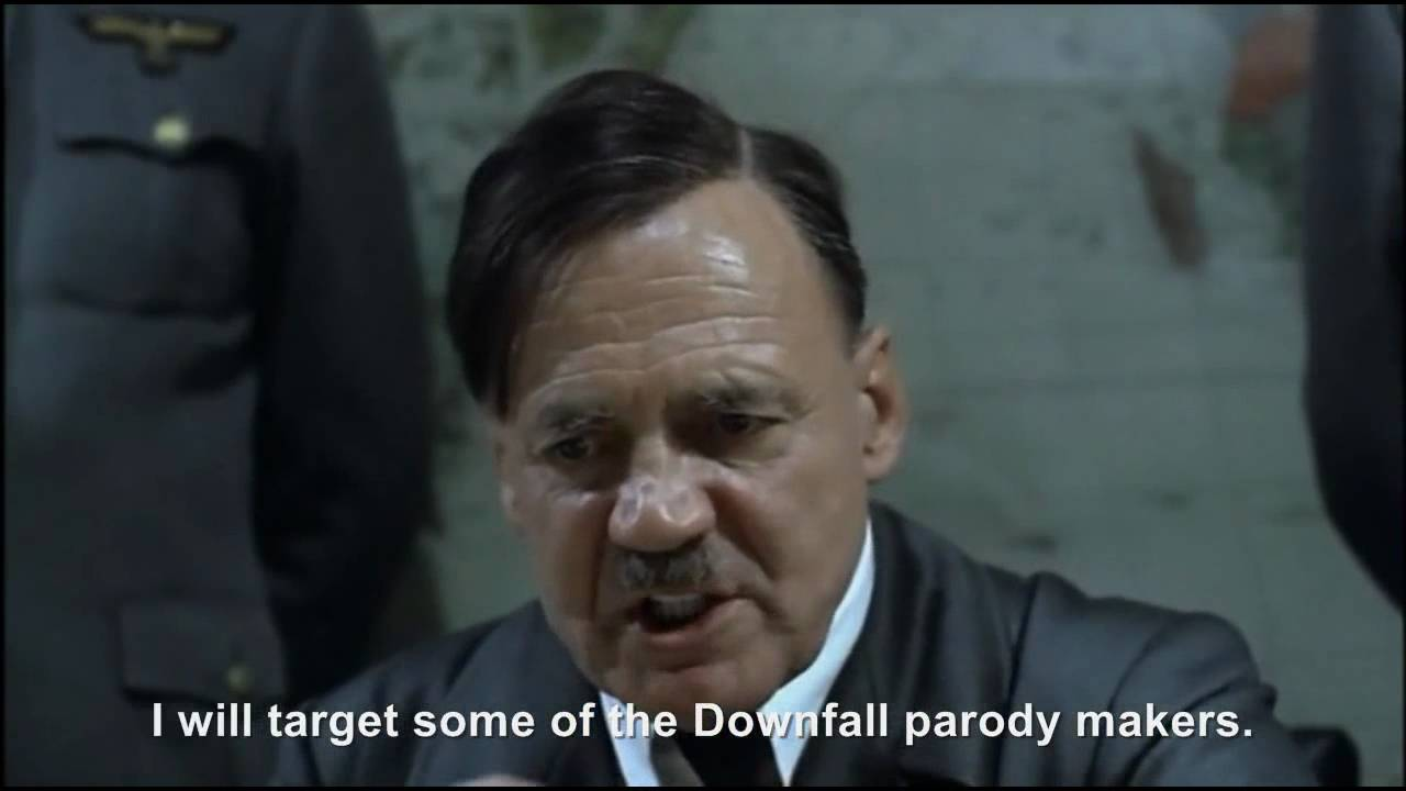 Hitler's Downfall parody purge