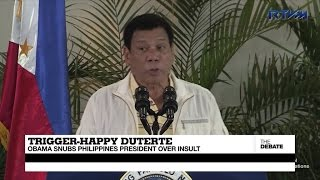 Philippines: Duterte campaign manager for youth defends the President's rape joke