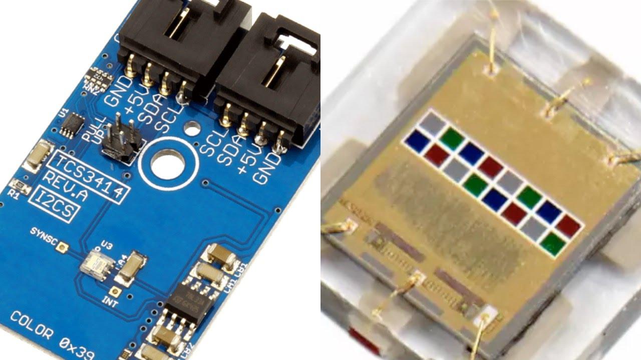Raspberry Pi Tcs3414 16 Bit Digital Color Sensor Python Tutorial Circuit Electronic