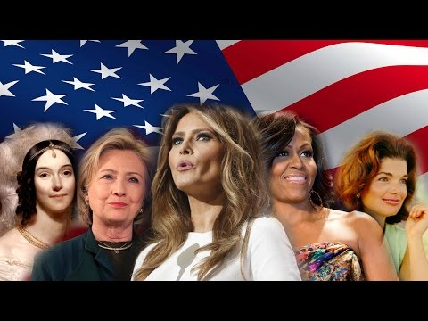 First Ladies Of The United States (Wives of US Presidents) | Melania Trump & Hillary