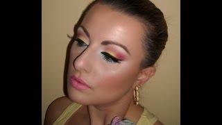Fun Bright Summer Makeup Tutorial Thumbnail