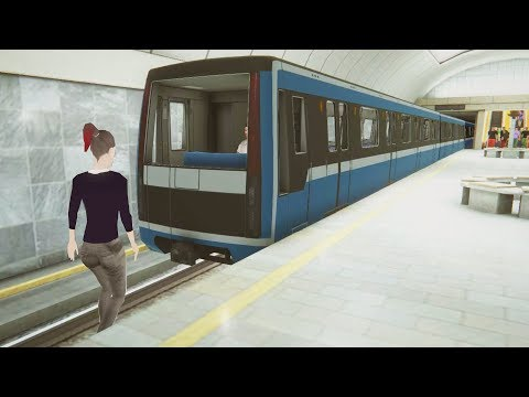 Became a Subway Driver, Got Fired for Crashing - Subway Simulator