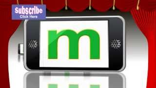 ABC phone show - English Alphabet small letters - from baby magic by up2six