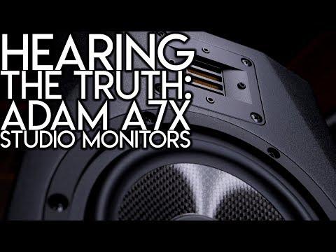 Hearing the truth:   Adam A7x Studio Monitors