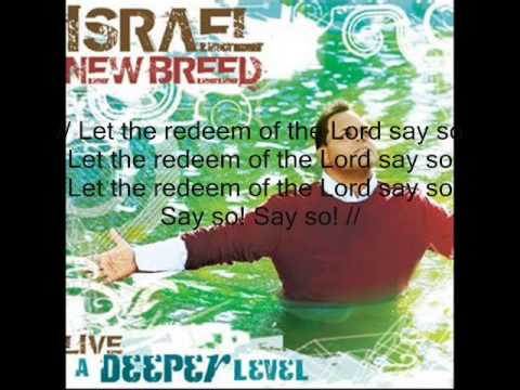 Say so with lyrics by Israel Houghton