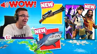 Nick Eh 30's FIRST REACTION to Season 3! (Fortnite Chapter 2)