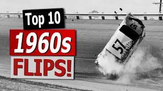 NASCAR: Top 10 Flips of the 1960s
