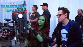 Guardians Of The Galaxy Vol.2 - In The Director's Chair - James Gunn - Official Marvel | HD