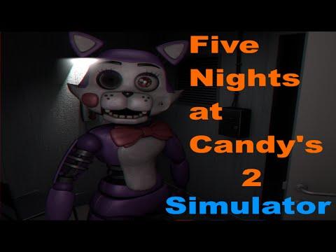 Ich bin Cindy the Cat! | Five Nights at Candy's 2 Simulator Part 1 | German / Deutsch