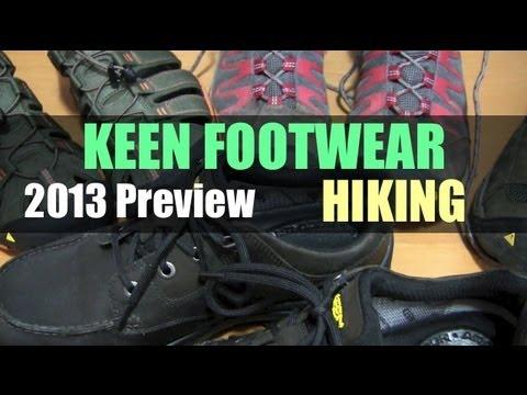KEEN Footwear For 2013 Hiking
