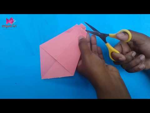 How to make a paper neck tie   Easy origami neck ties for beginners making   DIY Paper Crafts