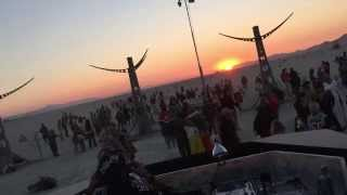 Goldcap live @ White Ocean - Burning Man 2015 ( Sunrise Set / Tuesday Morning )