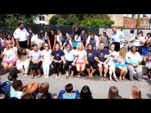 Hyde Addison Elementary School ALS   Ice Bucket Challenge Sept 3rd 2014